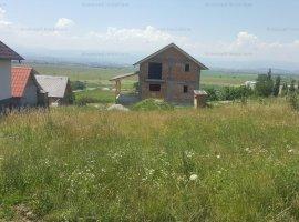 Teren 389mp cu autorizatie de construire si proiect de casa in Viile Sibiului