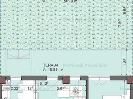 Apartament 2 camere + Curte Ansamblul cu Piscina