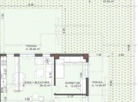 Apartament cu 3 camere + Curte + Acces Piscina