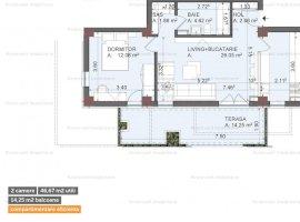 Apartament cu 2 camere + Etaj 1 + Acces Piscina