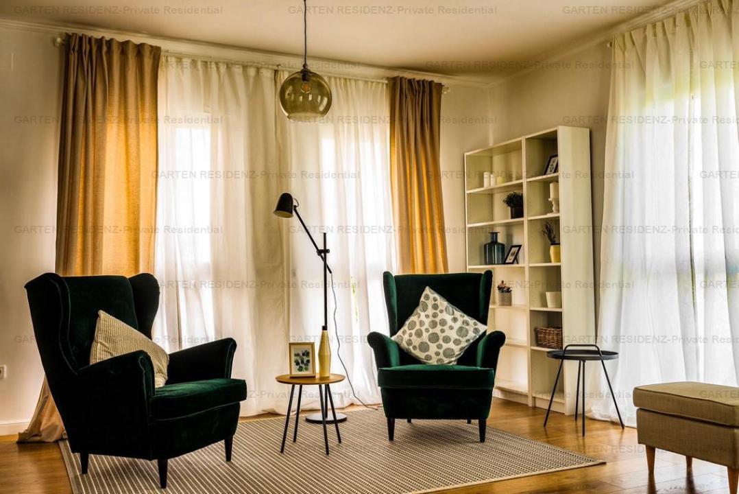 Vila Hamburg, 4 camere, curte 802 mp, GARTEN RESIDENZ, Ploiesti/Strejnicu