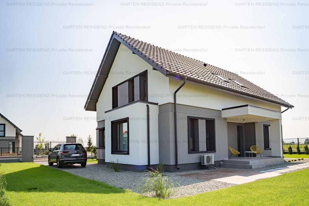 Vila KOLN, 4 camere, curte 768 mp, GARTEN RESIDENZ, Ploiesti/Strejnicu