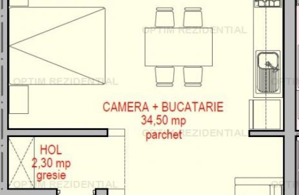 Ap 1 camera, ideal investitie, LUX, zona Copou