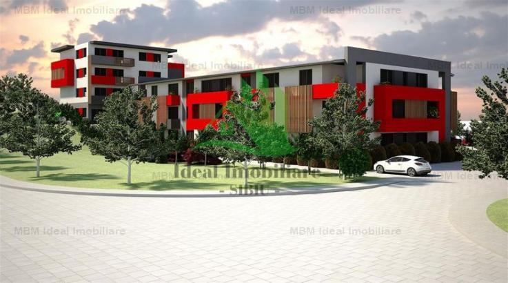 Apartament cu doua camere direct de la Dezvoltator in Cisnadie