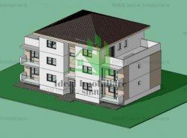 Apartament cu trei camere si terasa in Calea Cisnadiei