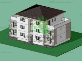 Apartament cu doua camere si balcon inchis in Calea Cisnadiei