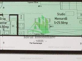 Apartament tip Studio in Calea Cisnadiei - Comision 0%