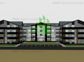 Apartament cu 2 camere si 2 balcoane de 9 mp in Calea Cisnadiei