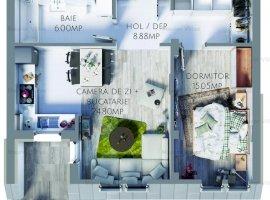 Apartament 2 camere, Maurer Villas Brasov - DISCOUNT de Decembrie