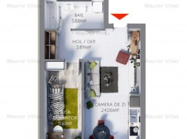 Studio de vânzare, Maurer Villas Brasov