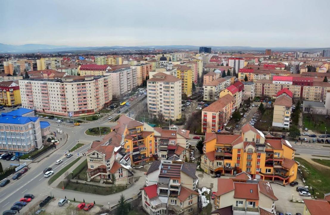 Penthouse de lux 298 mp mobilat si utilat in Sibiu