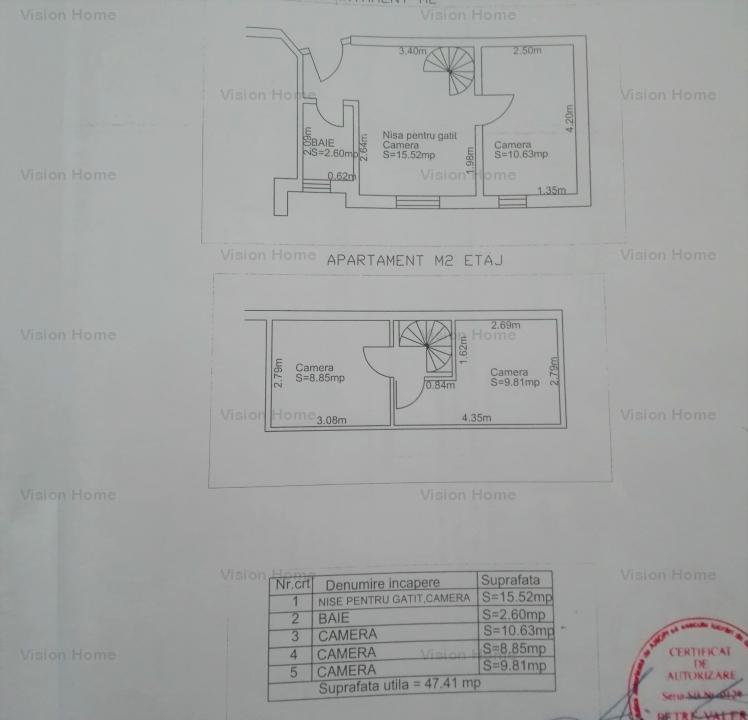 Mansarda cu 4 camere de vanzare in zona Mihai Viteazu Sibiu