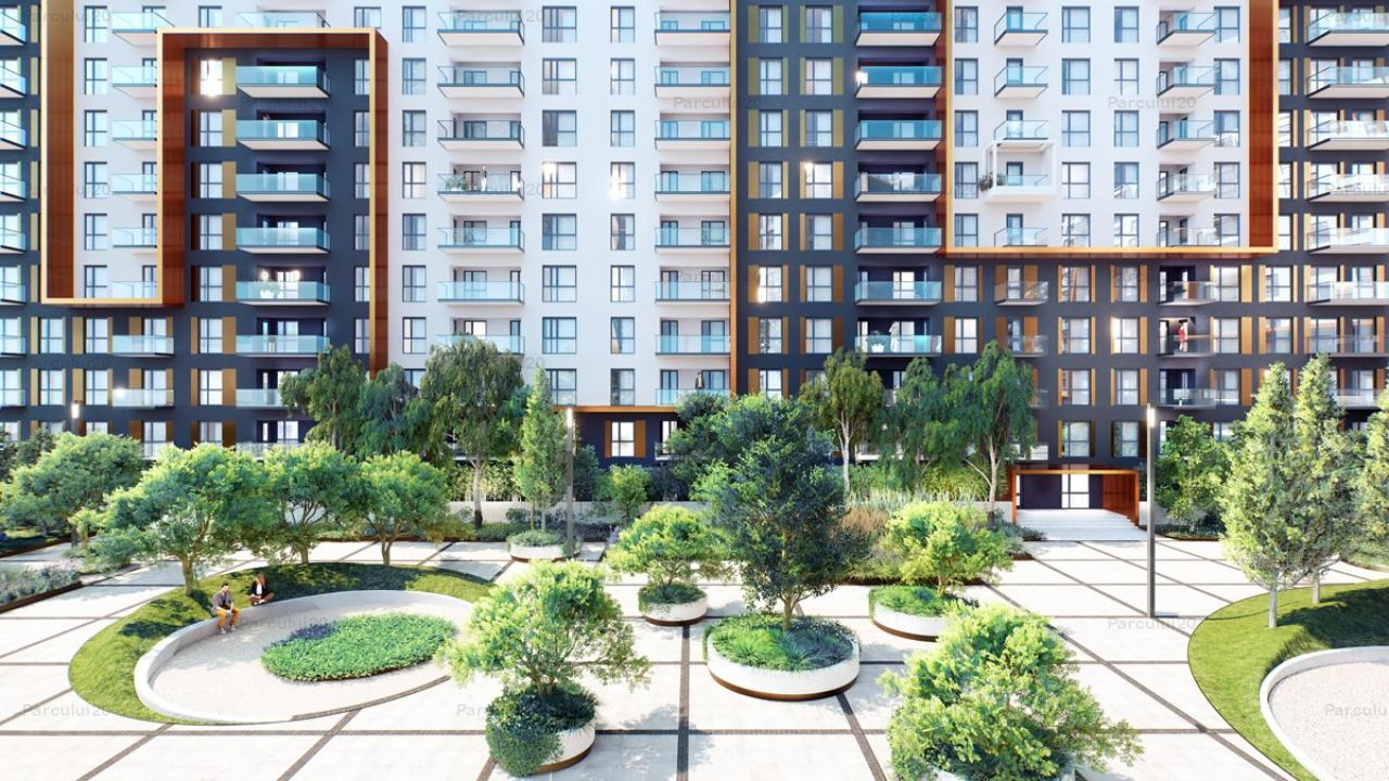 Apartament cu doua camere si spatii de depozitare, langa Parcul Herastrau