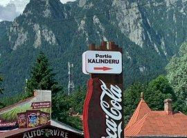 Se vinde Spatiu plus Teren la Fun Park-ul Kalinderu zona de agrement.
