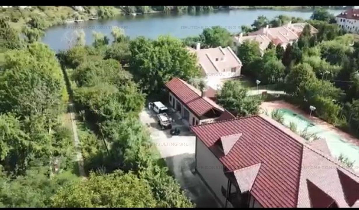 Casa Vila 8 camere Balotesti (Teren 5000 mp)