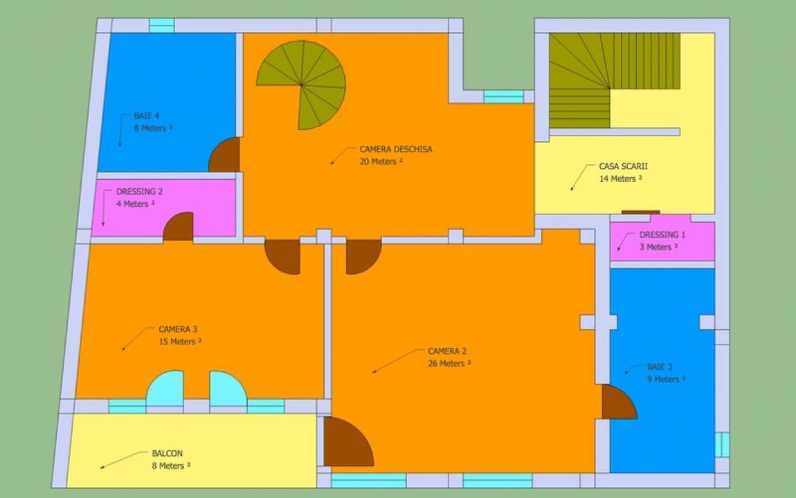 Casa Vila 8 camere Iancului