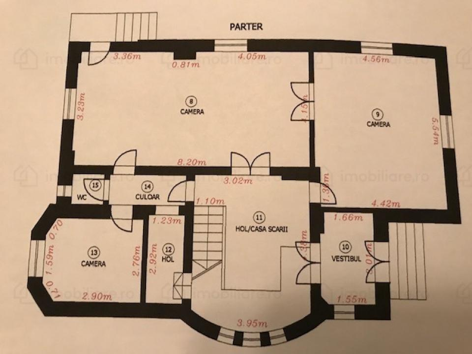 Casa Vila 11 camere Parcul Carol
