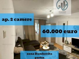 Apartament cu doua camere, la parter,  zona linistita