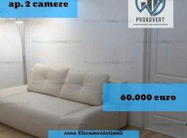 Apartament doua camere, proaspat renovat, zona Dacia