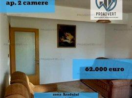 Apartament spatios, 60 mp, zona Fratelia