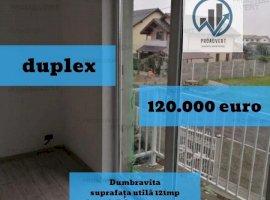 Duplex deosebit, foarte spatios, constructie noua, in Dumbravita