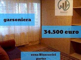 Garsoniera spatioasa, confort unu, pret avantajos, zona Blascovici