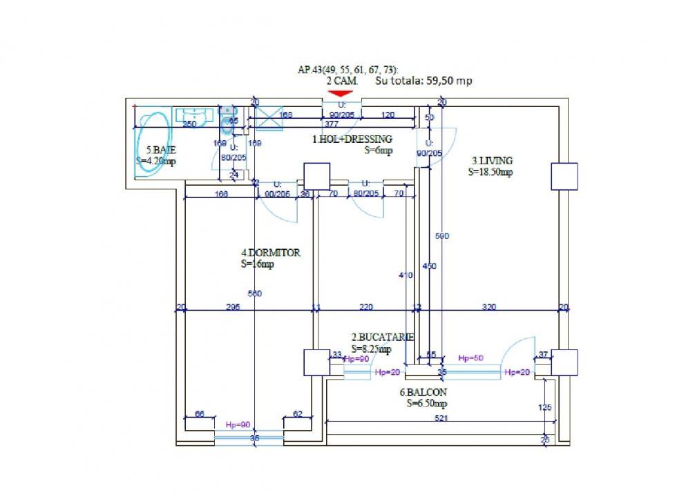 Dezvoltator-apartament decomandat 8 min. de metrou