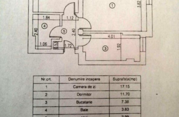 Vanzare apartament cu 2 camere zona Preciziei, Bucuresti