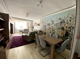 Apartament 3 camere ,2 bai, zona Isaran, etaj 5 din 10 mobilat si utilat ,pret 117000 euro