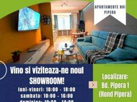 Apartament 2 camere NOU, 84 mp utili, in Pipera, cu dressing impunator