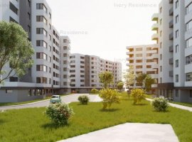 Studio 40mp, decomandat si spatios in Ivory Residence Pipera