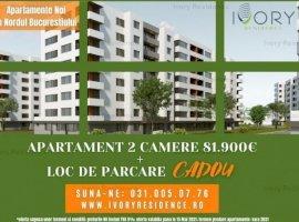 Apartament 2 camere(Tip 3)-60 mp utili