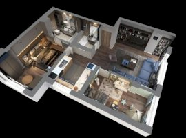 3 camere, B1A1, OMV Pipera - Ivory Residence