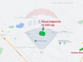 Investitie! Teren industrial 32.500 mp Strada Leordeni - Parcelabil