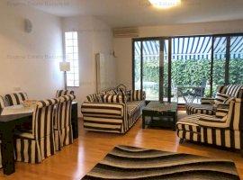 Apartament 3 camere cu gradina zona Arcul de Triumf