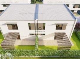 Vila P+1 in complex rezidential, zona linistita case, Popesti-Leordeni