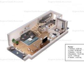 Casa tip D ,4 camere Pipera