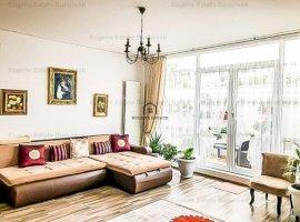 Apartament 3 camere, 92 mp curte, garaj, 8 minute de metrou
