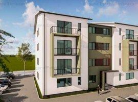 Apartamente cu 2 camere in ansamblu rezidential nou Giroc