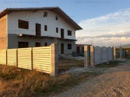 De vanzare casa duplex cu curte proprie in constructie 2021