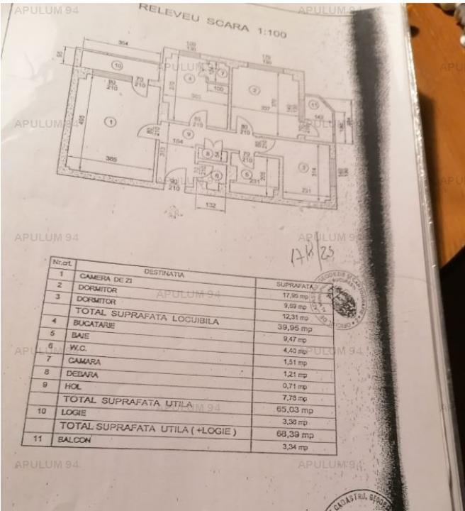 Apartament 3 camere Piata Iancului