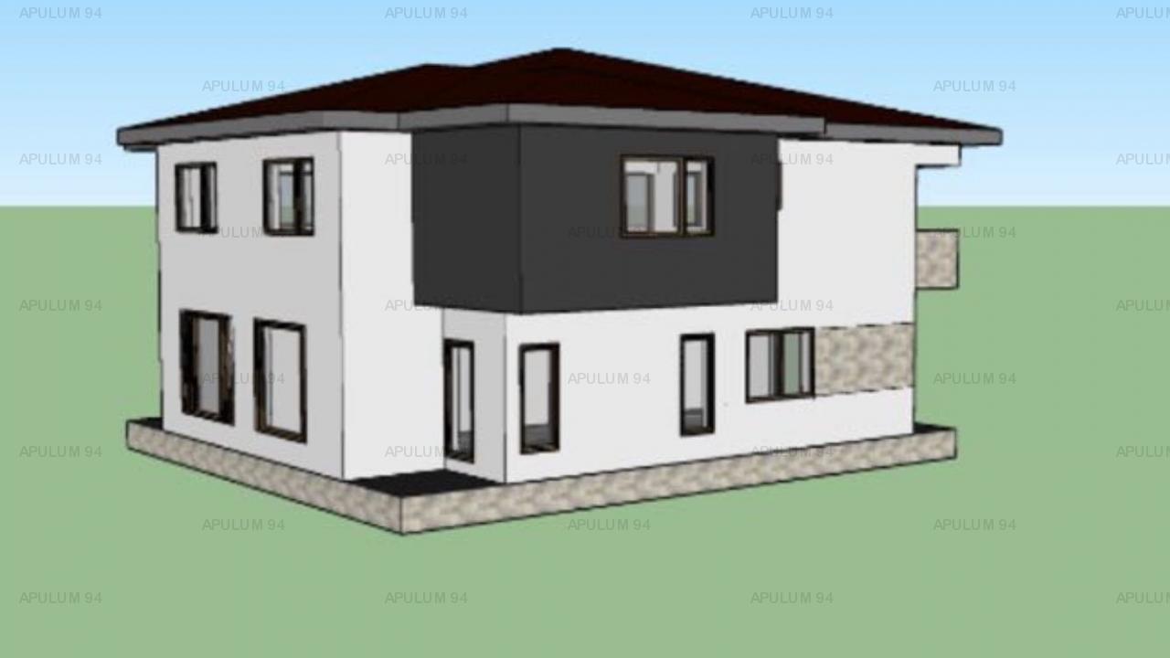 Vila in Domnesti, P+1, suprafata teren 340mp, suprafata utila 118mp, 4 camere, utilitati.