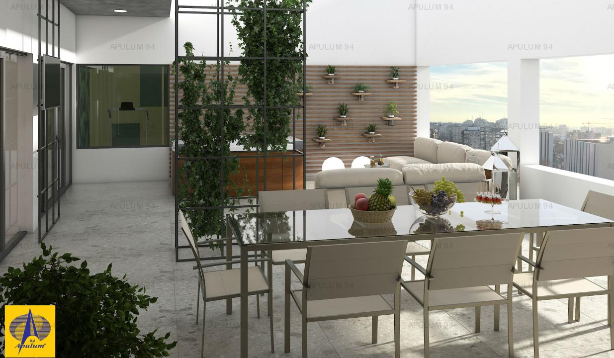 Penthouse 6 camere, Cotroceni, Politehnica, 370mp, decomandat, etajul 12, lux. l