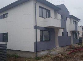 Domnesti, vila tip duplex, P+1, suprafata 120mp, teren 250mp, utilitati.
