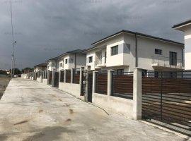Vile tip duplex in Chiajna, P+1+Pod, 4 camere, 123mp, teren 250mp, utilitati. An constructie 2018.