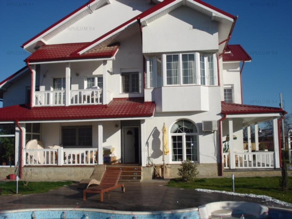 Vila exclusivista in Domnesti, 6 camere, P+1+M, suprafata 421mp, teren 1256, utilitati.