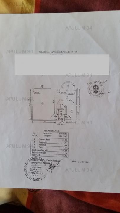 GARSONIERA CALEA CALARASI BLOC MONOLIT