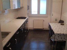 Apartament 4 camere, renovat recent, bucatarie mobilata si utilata, 2 bai!