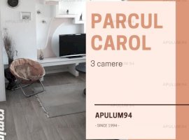 Parcul Carol - 3 Camere