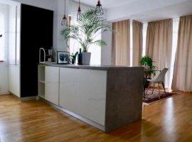 Baneasa, apartament 2 camere, suprafata 73mp, etaj 1, complet mobilat si utilat